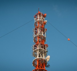 Mobil radiocommunication grid tower_industrie